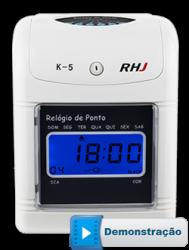 Relógio de Ponto K-5 RHJ
